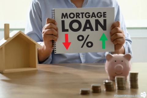 sulit untuk mendapatkan hipotek sebagai pemain poker