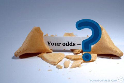odds to win in 3 card poker