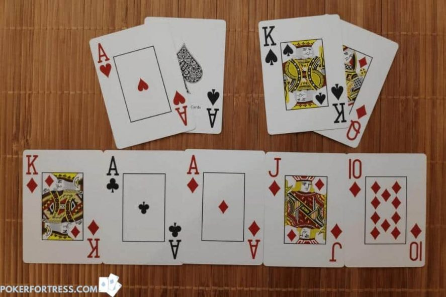 Example of a cooler in poker.
